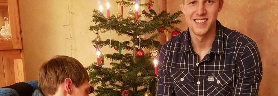Weihnachtsspende von Julian Koch