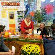 MOSAIK beim Novembermarkt in der Blote-Vogel-Schule Witten